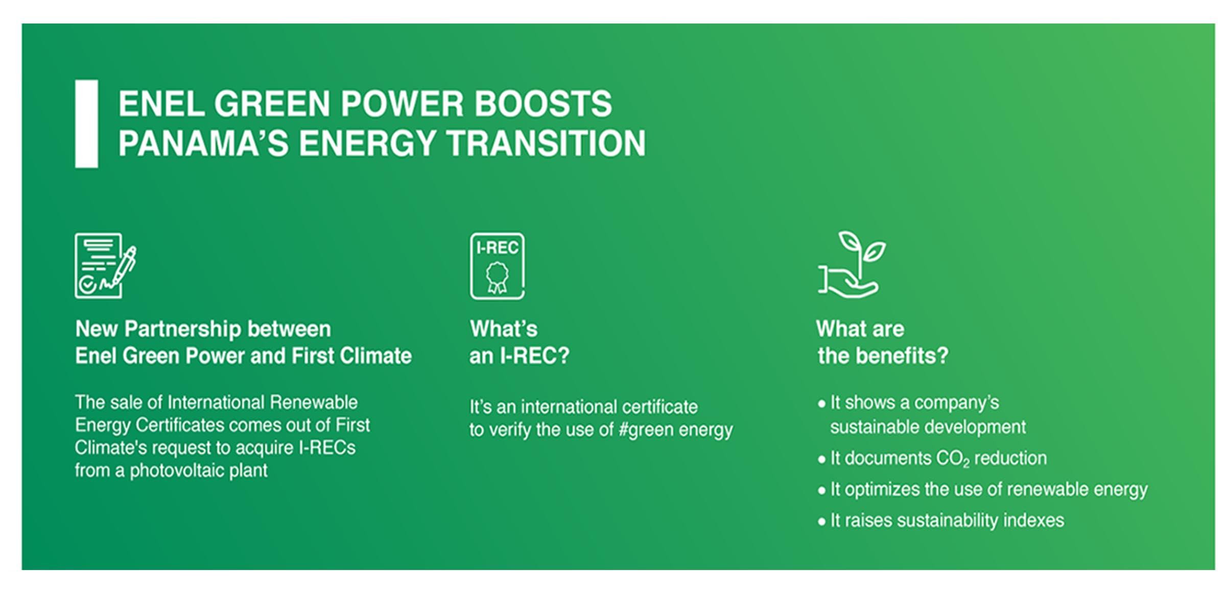 Panama A New Horizon For I Recs Enel Green Power