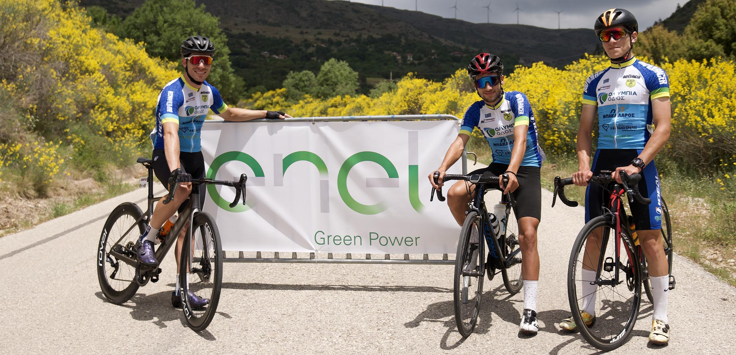 ENEL GREEN POWER: Ο ιστορικός ποδηλατικός αγώνας «Θυσίας»: ενέργεια με κάθε τρόπο